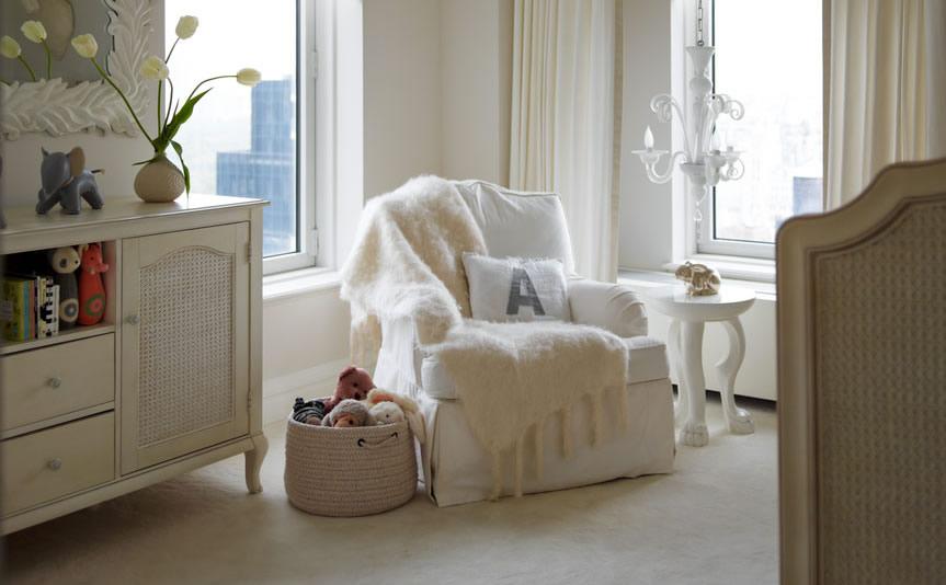Elegant Nursery Room Design Inspiration