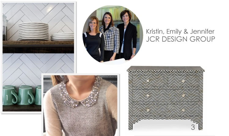 JCR Design Group: Herringbone patterns In Interior Design
