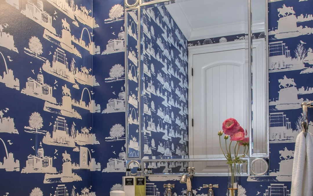 JCR Featured By Interior Design Center Of St Louis: Bespoke Wallpaper