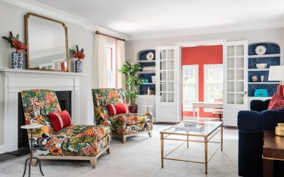 JCR Design Featured On Houzz: 5 Ways to Push the Envelope With Colour and Pattern