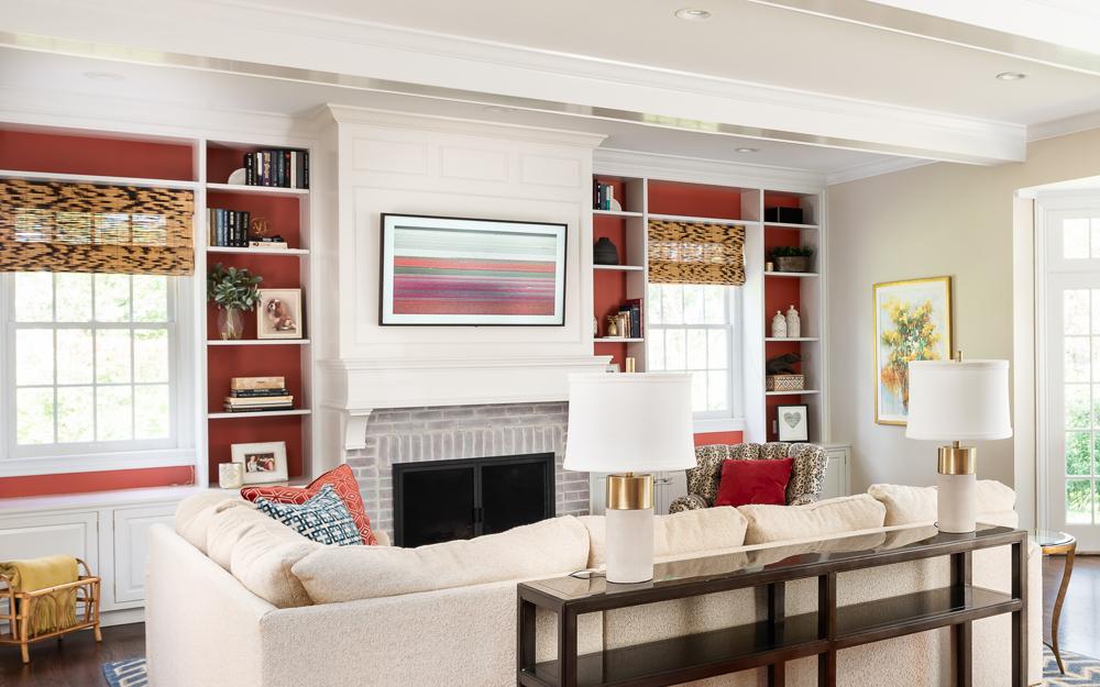 Living Room Interior Design JCR St Louis